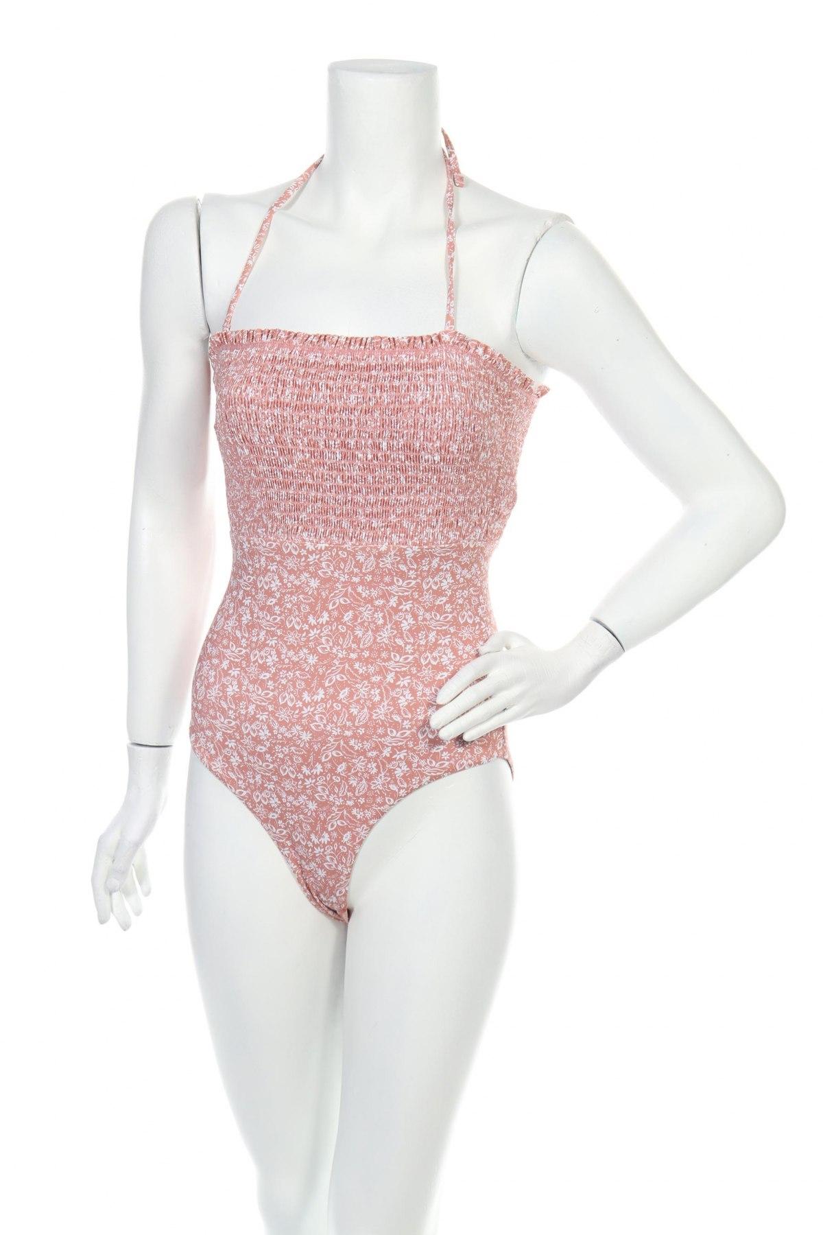 Дамски бански Pieces, Размер M, Цвят Розов, 87% полиамид, 13% еластан, Цена 30,87лв.