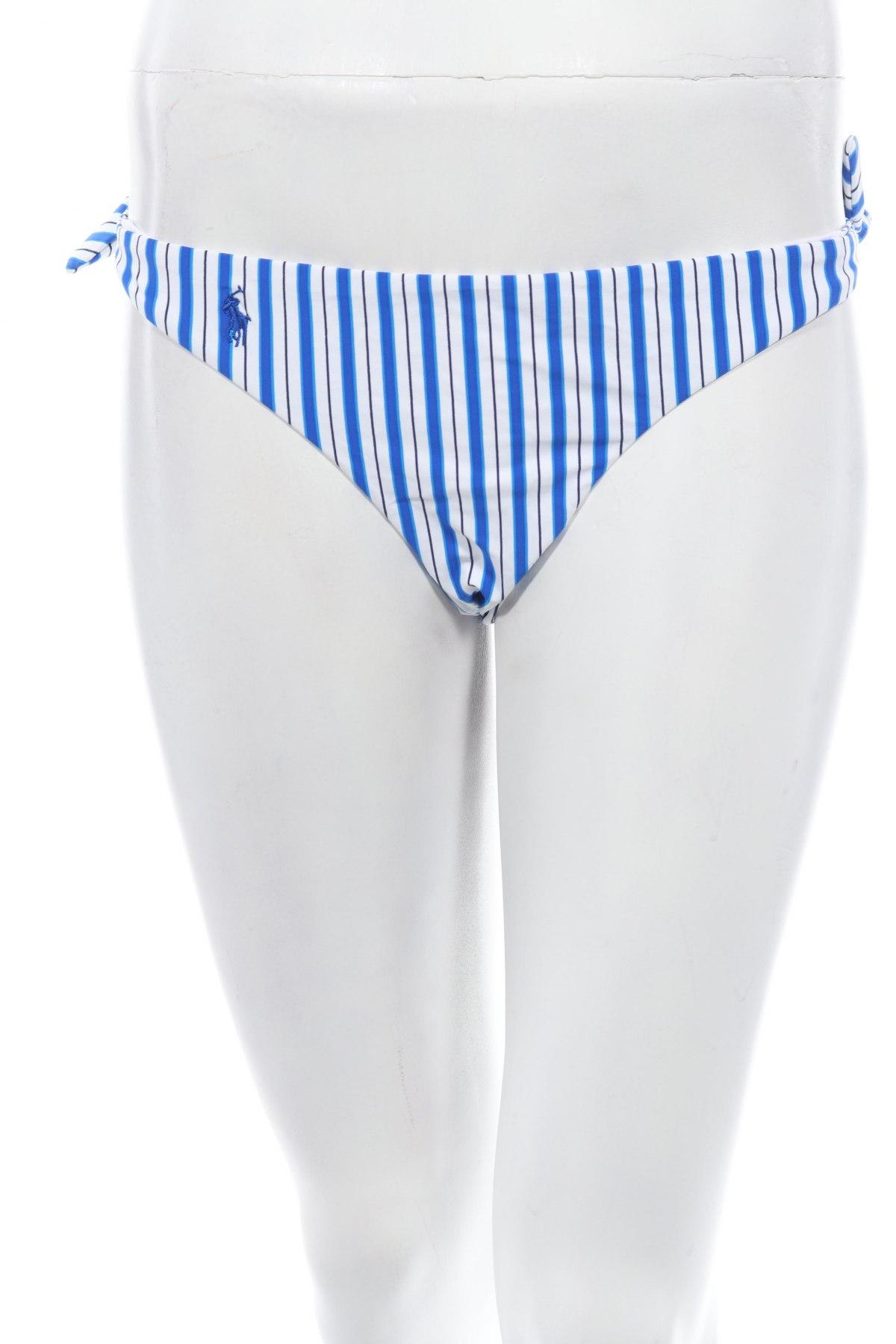 Дамски бански Polo By Ralph Lauren, Размер S, Цвят Син, 83% полиамид, 17% еластан, Цена 47,17лв.