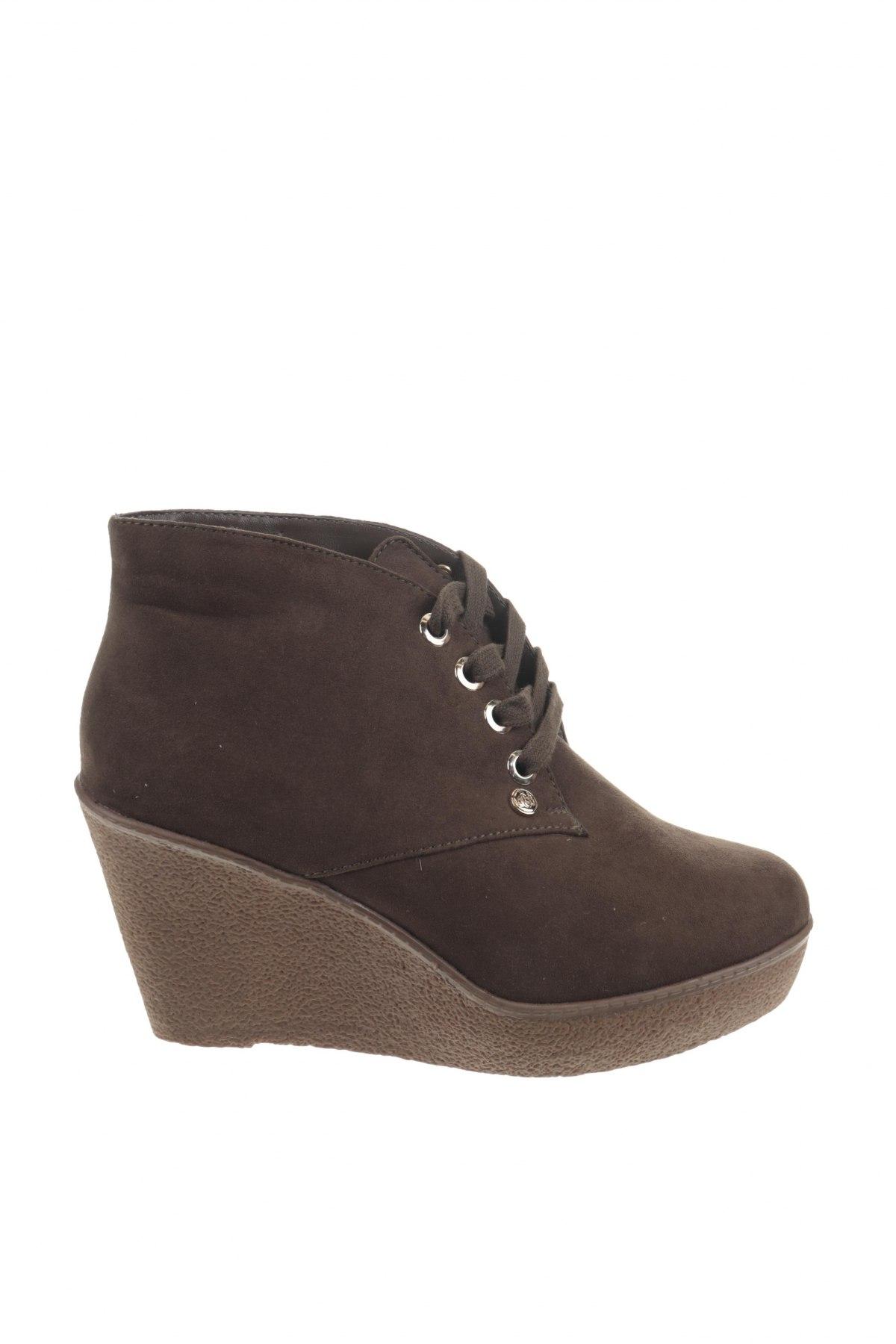 Дамски обувки Camomilla, Размер 39, Цвят Зелен, Текстил, Цена 23,70лв.