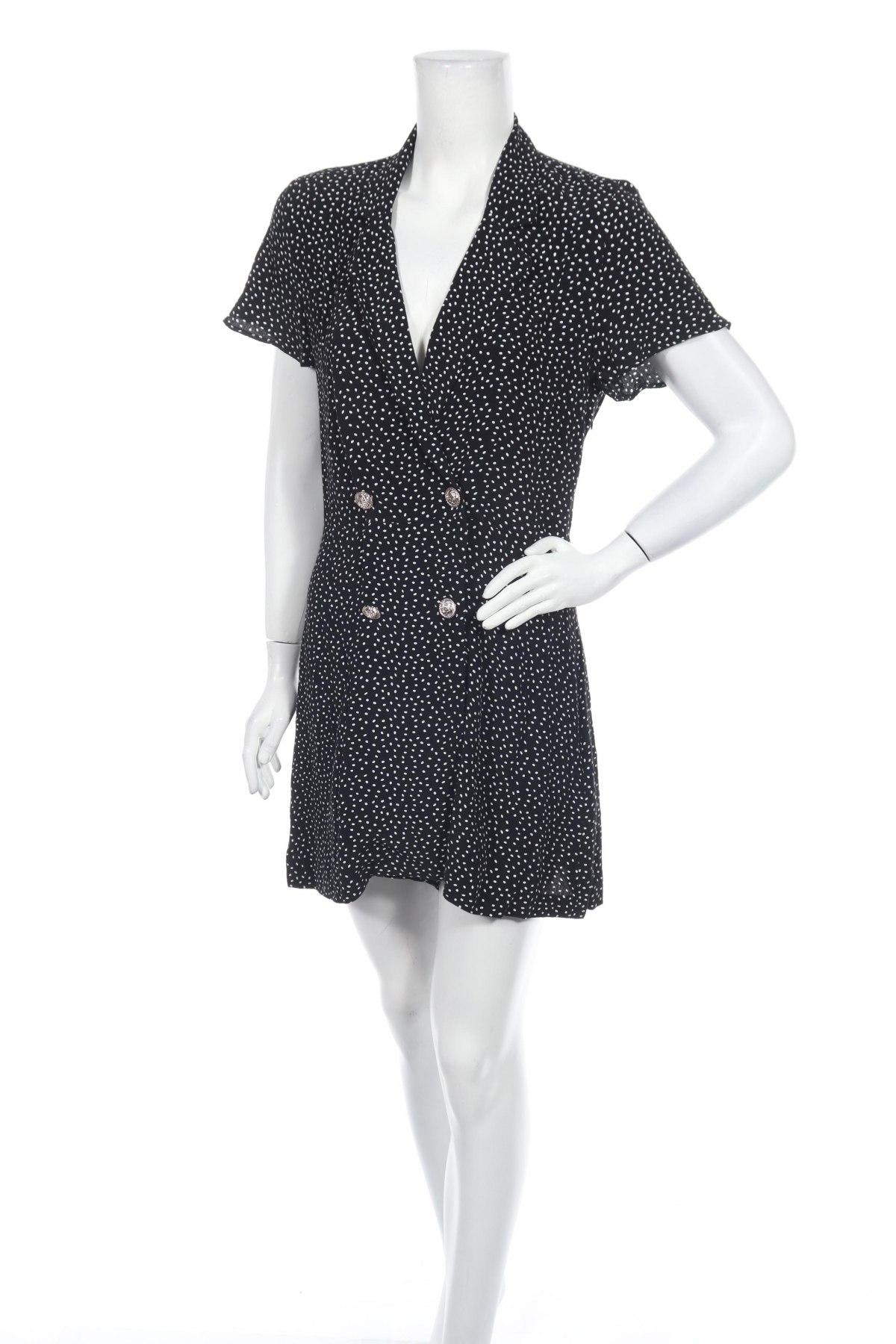 Γυναικεία σαλοπέτα Zara, Μέγεθος S, Χρώμα Μαύρο, Βισκόζη, Τιμή 16,94€