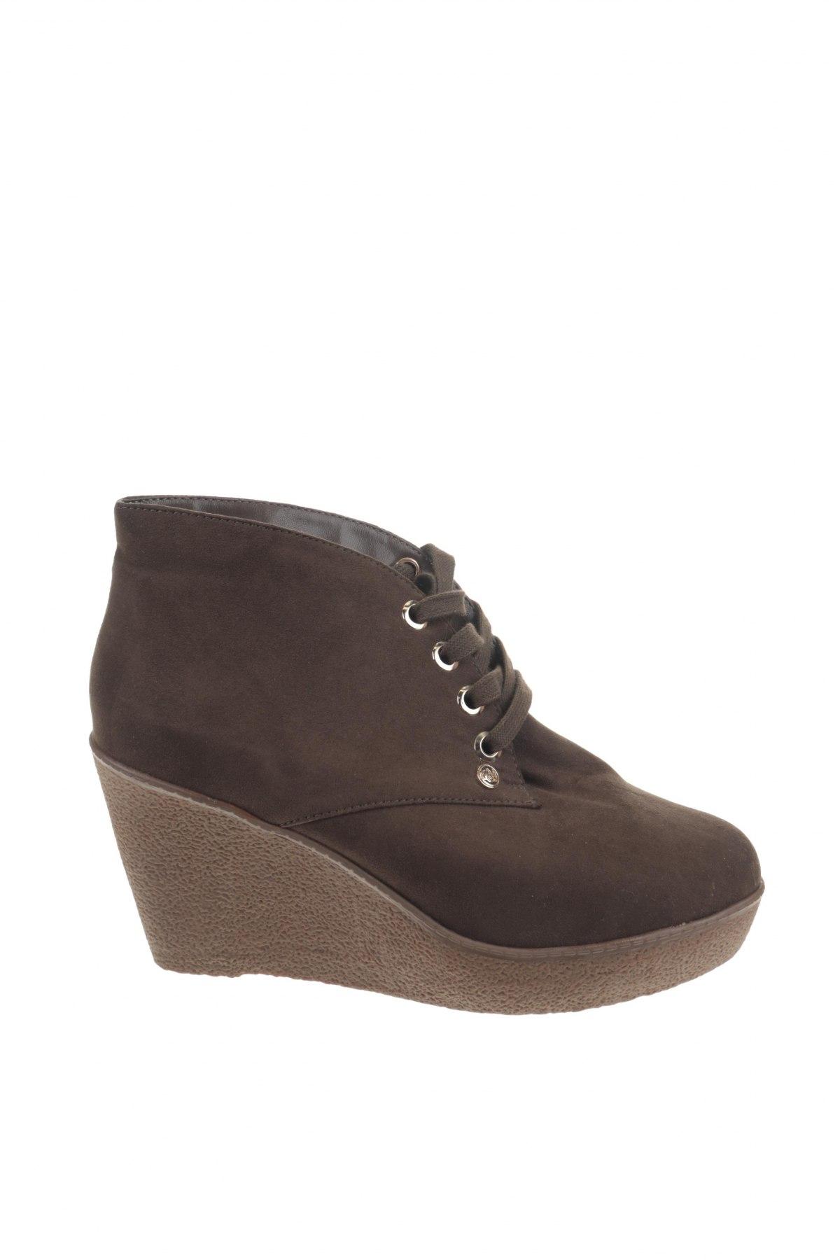 Γυναικεία παπούτσια Camomilla, Μέγεθος 40, Χρώμα Πράσινο, Κλωστοϋφαντουργικά προϊόντα, Τιμή 13,44€