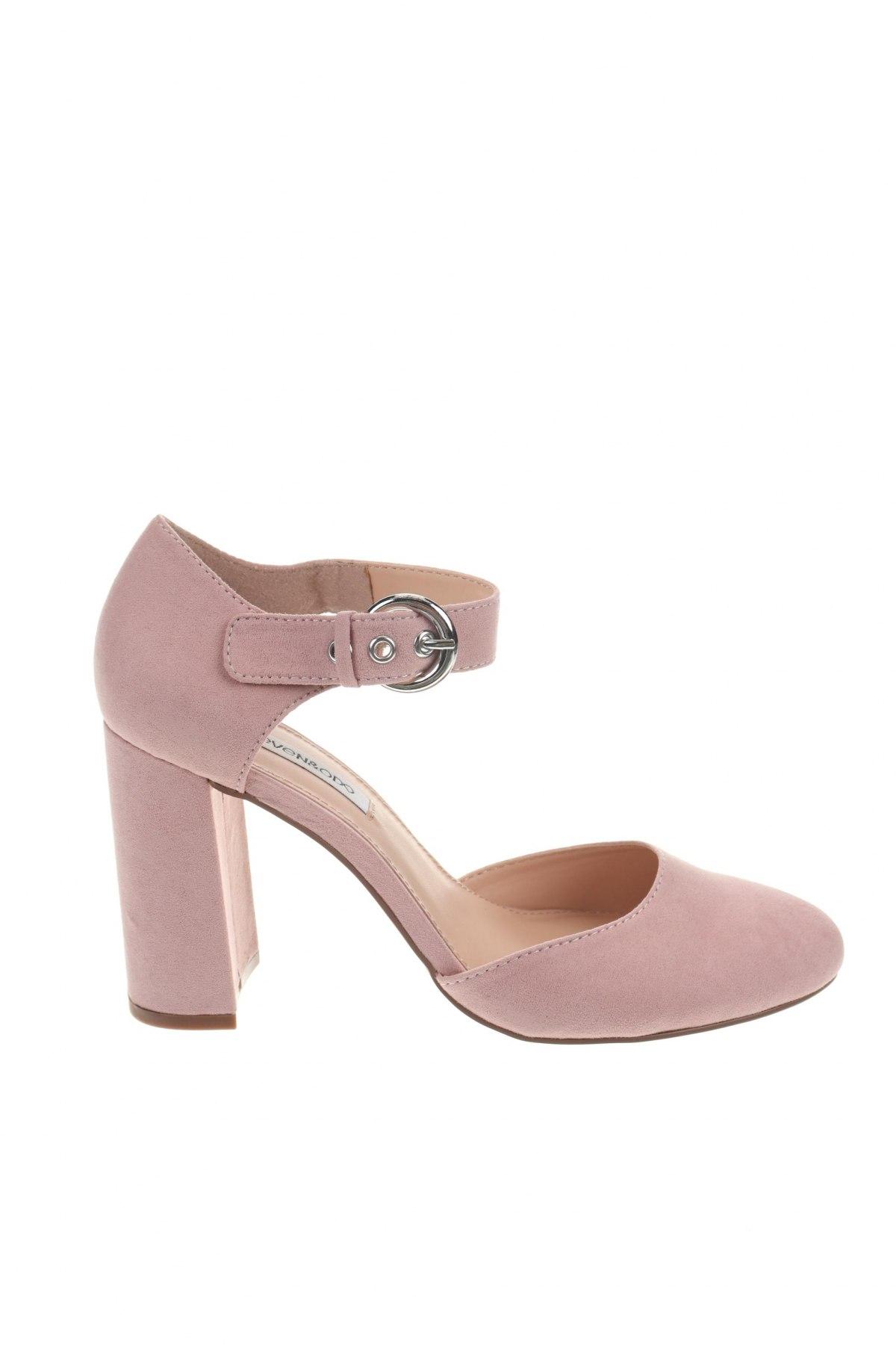 Дамски обувки Even&Odd, Размер 38, Цвят Розов, Текстил, Цена 44,25лв.