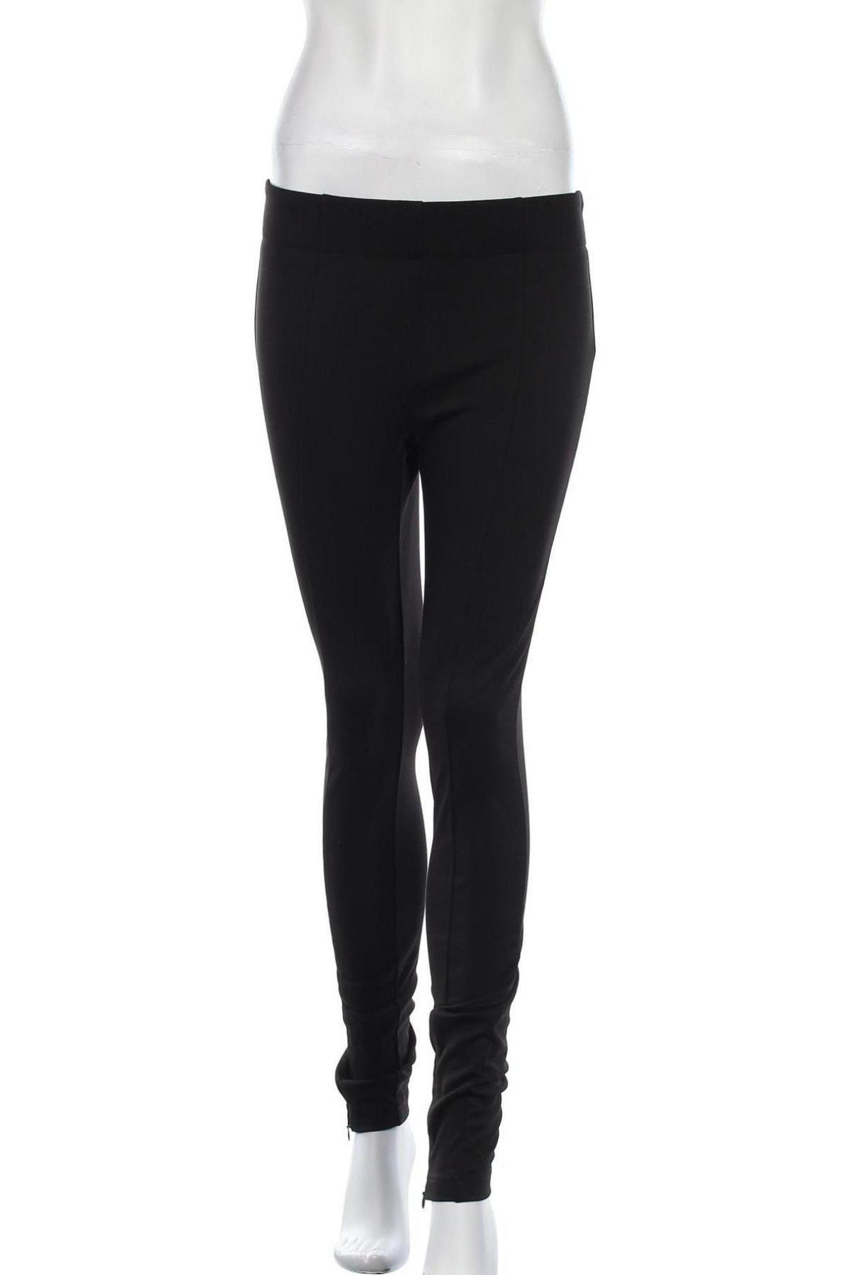 Дамски панталон Aware by Vero Moda, Размер S, Цвят Черен, 70% полиестер, 25% вискоза, 5% еластан, Цена 13,80лв.
