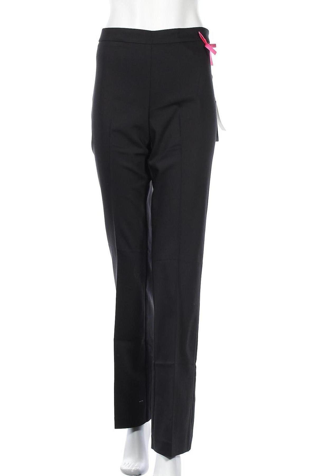 Дамски панталон Camomilla, Размер XL, Цвят Черен, 57% памук, 40% полиестер, 3% еластан, Цена 17,80лв.
