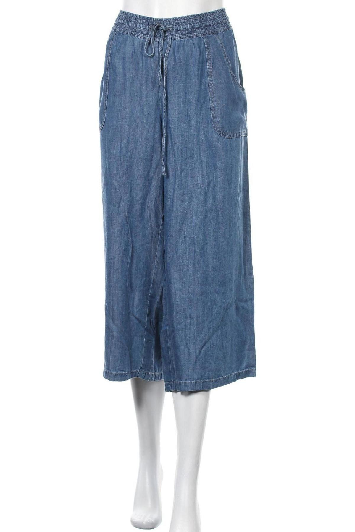 Панталон за бременни Prenatal, Размер XL, Цвят Син, Лиосел, Цена 28,80лв.