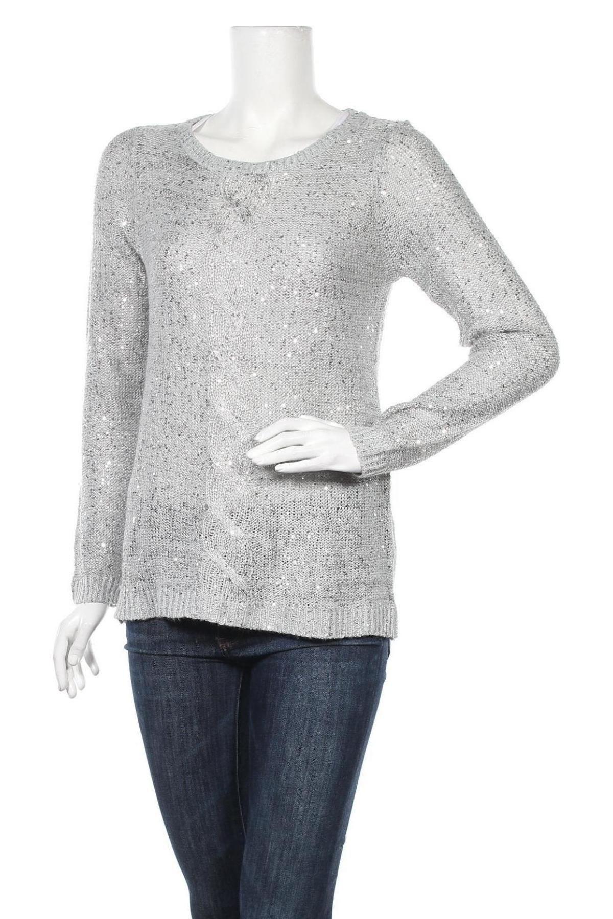Γυναικείο πουλόβερ Esmara, Μέγεθος S, Χρώμα Γκρί, 66% πολυεστέρας, 34% πολυακρυλικό, Τιμή 17,90€