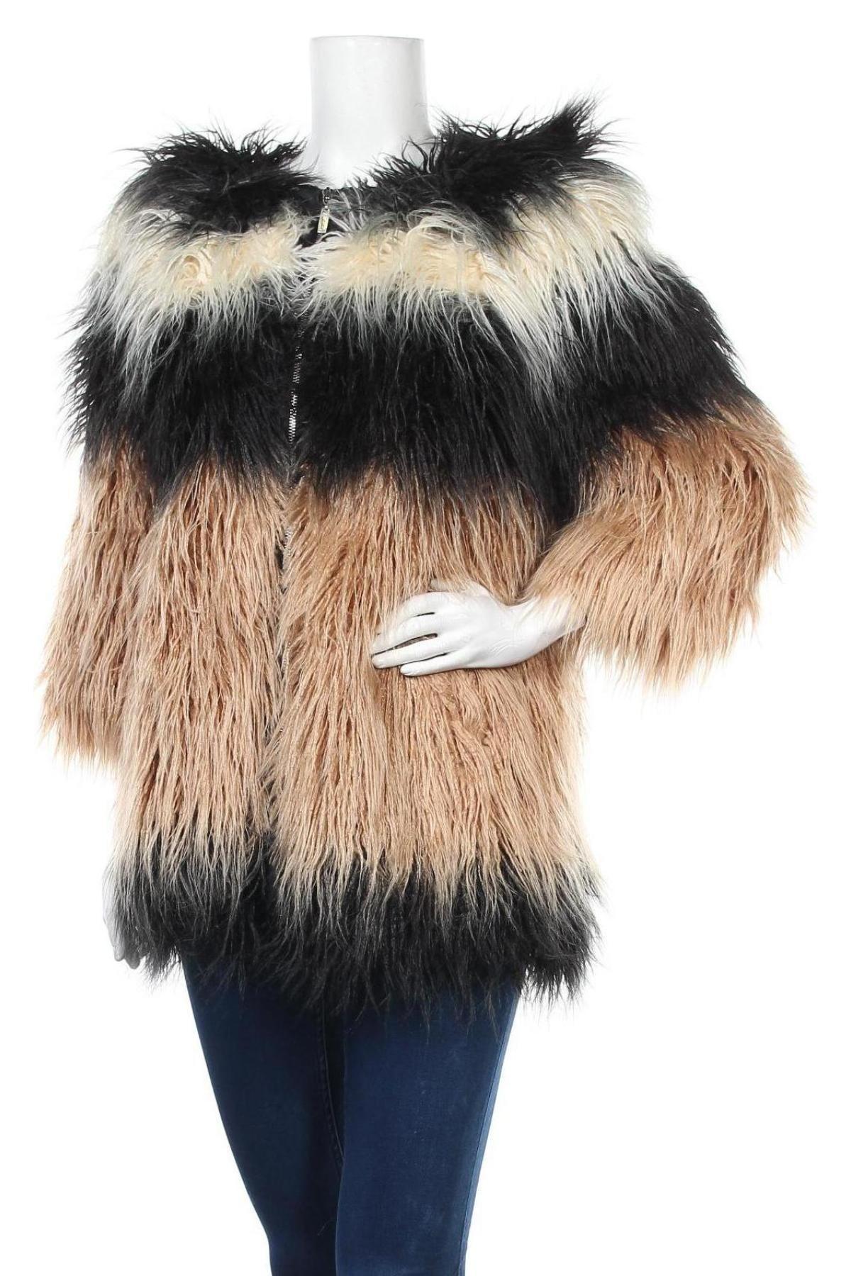 Дамско палто Camomilla, Размер M, Цвят Многоцветен, Акрил, Цена 113,40лв.