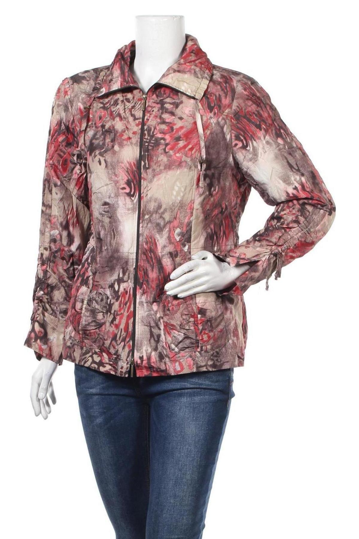 Дамско яке Bonita, Размер L, Цвят Многоцветен, 94% полиестер, 6% метални нишки, Цена 11,34лв.