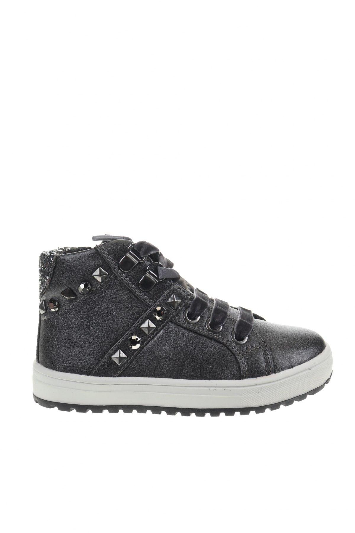 Детски обувки Balducci, Размер 25, Цвят Сив, Еко кожа, естествен косъм, Цена 51,75лв.