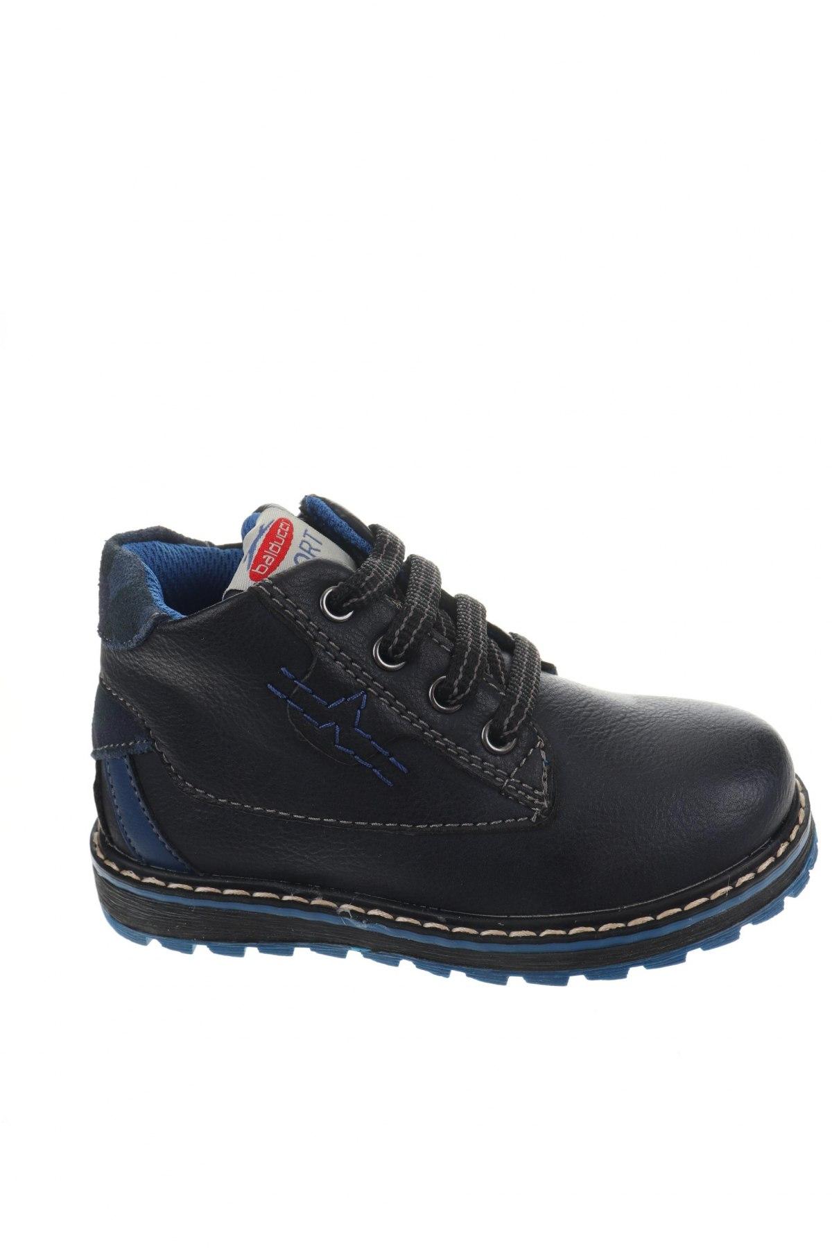Детски обувки Balducci, Размер 24, Цвят Син, Еко кожа, естествен велур, Цена 26,07лв.