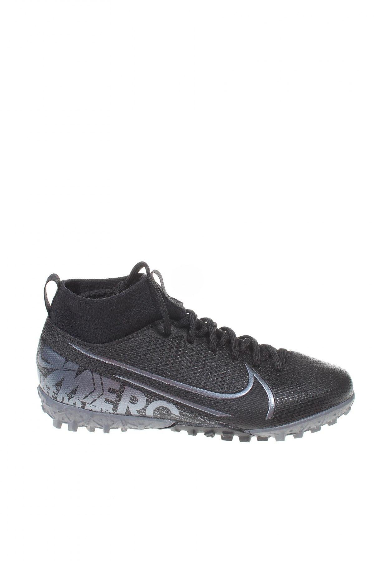 Παιδικά παπούτσια Nike, Μέγεθος 33, Χρώμα Μαύρο, Δερματίνη, κλωστοϋφαντουργικά προϊόντα, Τιμή 53,74€