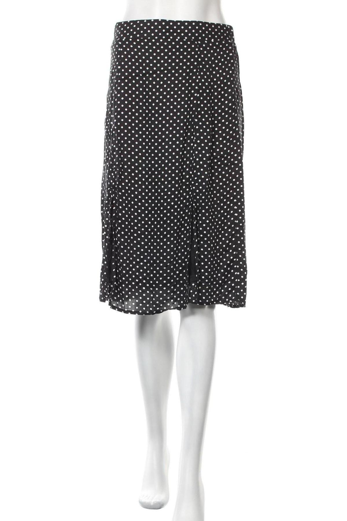 Пола Vero Moda, Размер S, Цвят Черен, Вискоза, Цена 17,70лв.