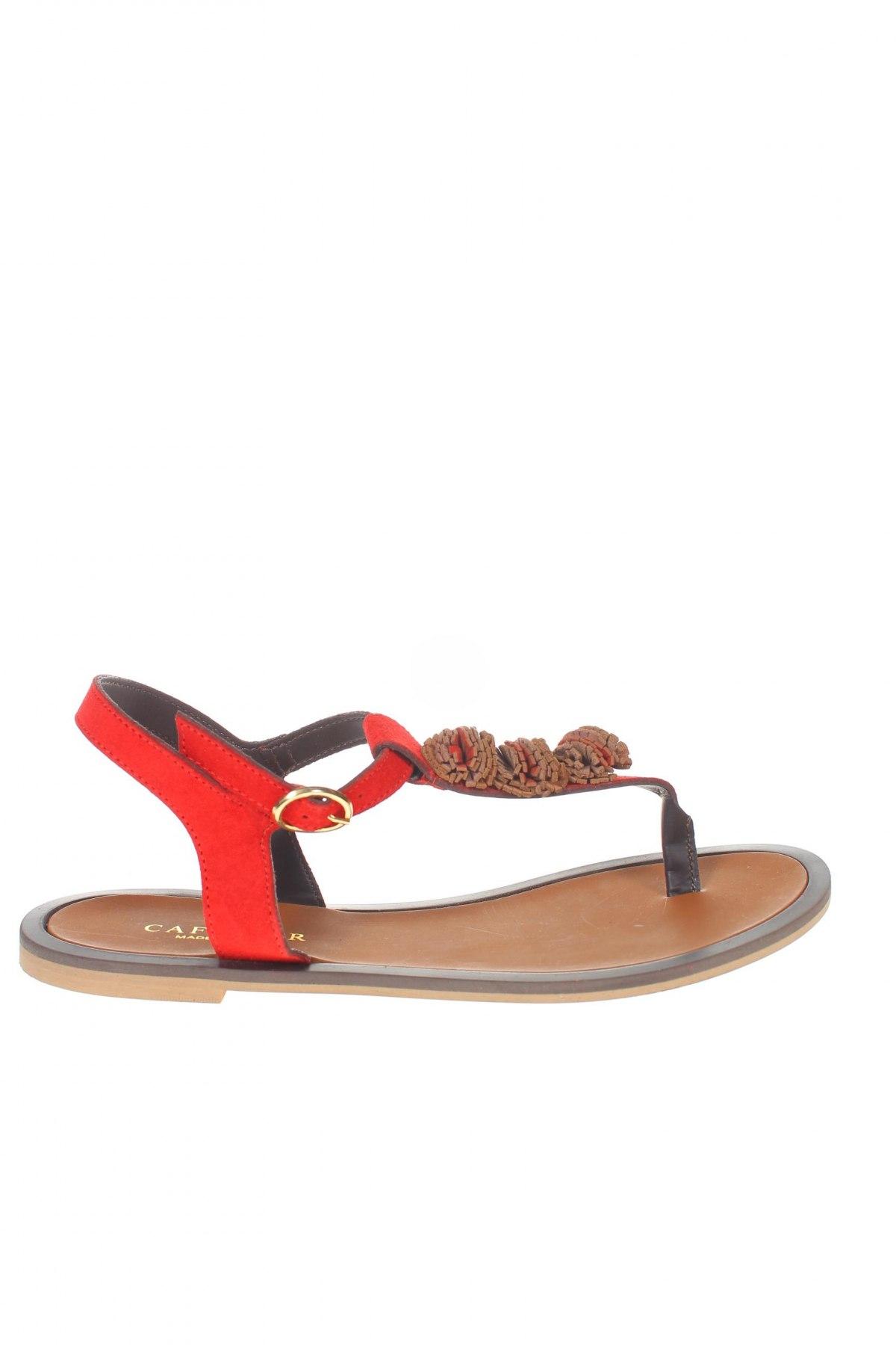 Σανδάλια CAFèNOIR, Μέγεθος 38, Χρώμα Κόκκινο, Φυσικό σουέτ, Τιμή 34,41€