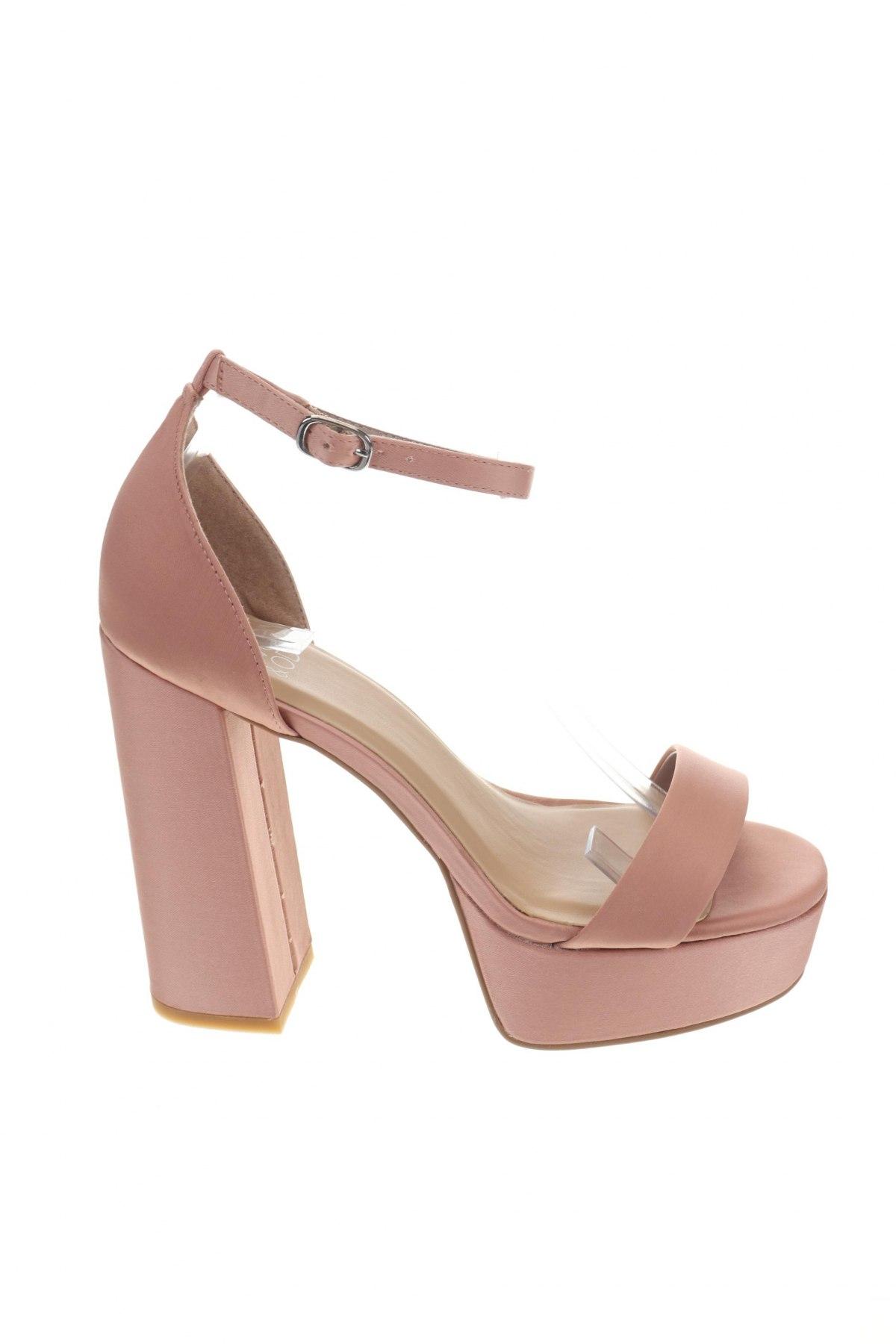 Σανδάλια Even&Odd, Μέγεθος 39, Χρώμα Ρόζ , Κλωστοϋφαντουργικά προϊόντα, Τιμή 17,64€
