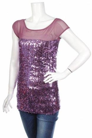 Дамска блуза Jcl, Размер M, Цвят Лилав, Полиестер, Цена 4,83лв.