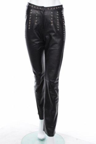 Damskie skórzane spodnie Alba Moda