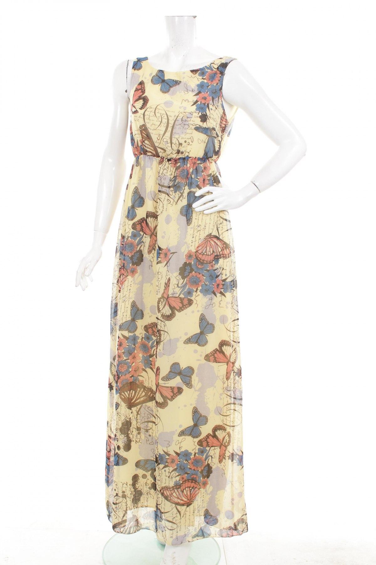 Damen Climalite Kleid New York, schwarzneongrün, 40