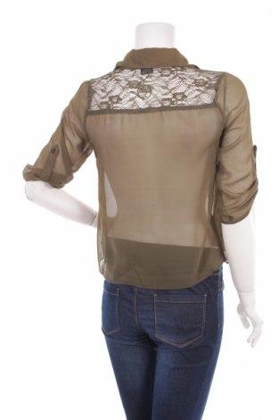 Γυναικείο πουκάμισο Wet Seal, Μέγεθος S, Χρώμα Πράσινο, Πολυεστέρας, Τιμή 15,98€