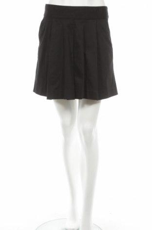Φούστα H&M, Μέγεθος S, Χρώμα Μαύρο, 97% βαμβάκι, 3% ελαστάνη, Τιμή 4,59€