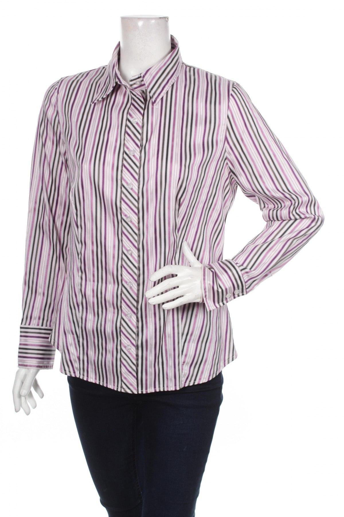 Γυναικείο πουκάμισο Classic By Michele Boyard, Μέγεθος L, Χρώμα Πολύχρωμο, Τιμή 14,23€