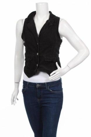 Дамски елек Okay, Размер S, Цвят Черен, 100% памук, Цена 17,00лв.