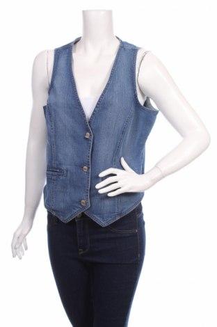 Дамски елек Woman By Tchibo, Размер XL, Цвят Син, 98% памук, 2% еластан, Цена 7,00лв.