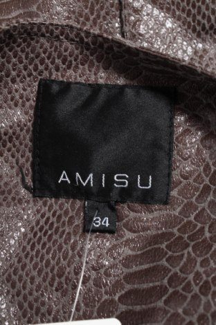 Дамски кожен елек Amisu