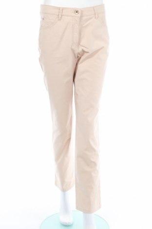 Дамски панталон Brax, Размер M, Цвят Бежов, 96% памук, 4% еластан, Цена 9,49лв.