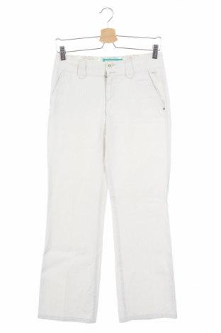 Дамски панталон Esprit, Размер XS, Цвят Бял, Памук, Цена 6,44лв.