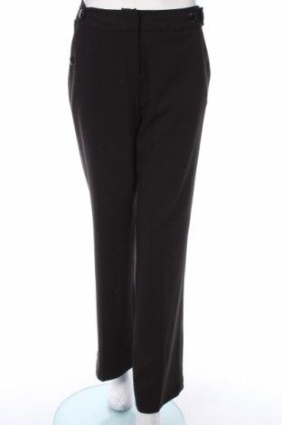 Γυναικείο παντελόνι Laura Clement, Μέγεθος M, Χρώμα Μαύρο, 75% πολυεστέρας, 19% βισκόζη, 6% ελαστάνη, Τιμή 3,39€