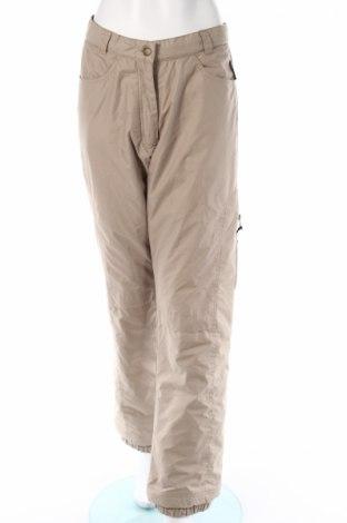 Дамски панталон за зимни спортове Crane Sports, Размер M, Цвят Бежов, 100% полиестер, Цена 8,28лв.