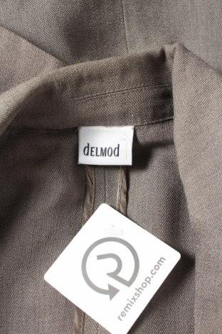 Дамско сако Delmod, Размер L, Цвят Зелен, 86% ацетат, 14% полиестер, Цена 20,40лв.