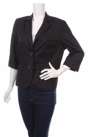 Дамско сако Steilmann, Размер L, Цвят Черен, 97% памук, 3% еластан, Цена 32,25лв.