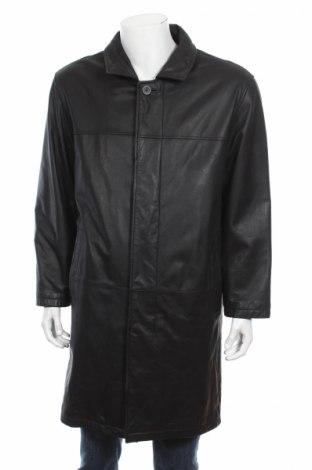 Palton de piele pentru bărbați Canda