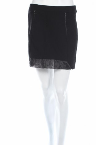 Пола H&M, Размер M, Цвят Черен, 65% полиестер, 3% вискоза, 2% еластан, Цена 5,20лв.