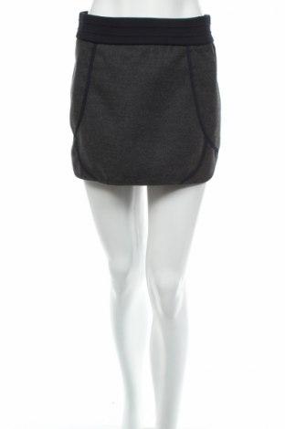 Пола Zara Trafaluc, Размер S, Цвят Сив, 96% полиестер, 4% еластан, Цена 8,40лв.