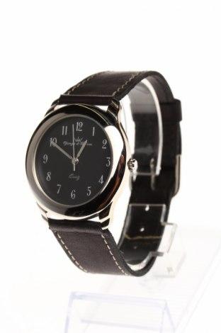 Hodinky Yonger & Bresson, Farba Čierna, Pravá koža , metal, Cena  46,26€