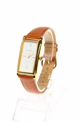 Часовник Yonger & Bresson, Цвят Кафяв, Естествена кожа, метал, Цена 53,85лв.