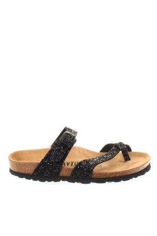 Papuče Bayton, Veľkosť 38, Farba Čierna, Textil, Cena  10,67€