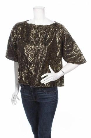 Дамска блуза Axara, Размер L, Цвят Черен, Полиестер, Цена 21,00лв.