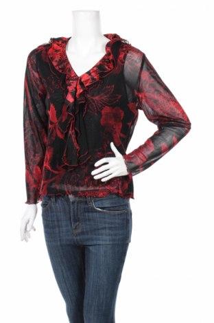 Дамска блуза Laura Lebek, Размер XL, Цвят Червен, Полиамид, Цена 7,75лв.