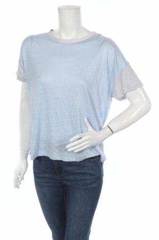 Γυναικεία μπλούζα Rag & Bone, Μέγεθος M, Χρώμα Μπλέ, Λινό, Τιμή 32,78€