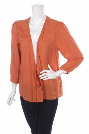 Дамска блуза Weekday, Размер L, Цвят Оранжев, Вискоза, Цена 7,40лв.
