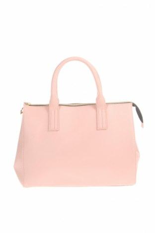 Γυναικεία τσάντα Charles Laurent, Χρώμα Ρόζ , Δερματίνη, Τιμή 15,83€