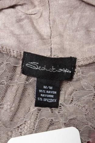 Дамска жилетка Seductions, Размер M, Цвят Сив, 95% вискоза, 5% еластан, Цена 6,21лв.