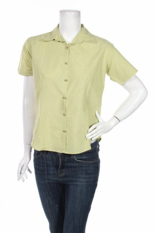 Дамска риза Columbia, Размер S, Цвят Зелен, 80% полиестер, 20% памук, Цена 6,60лв.