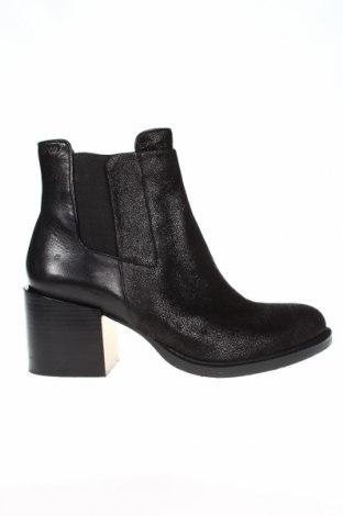 Γυναικεία μποτάκια Joop!, Μέγεθος 41, Χρώμα Μαύρο, Κλωστοϋφαντουργικά προϊόντα, γνήσιο δέρμα, Τιμή 176,90€