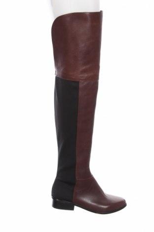Γυναικείες μπότες BCBG Max Azria, Μέγεθος 36, Χρώμα Καφέ, Γνήσιο δέρμα, κλωστοϋφαντουργικά προϊόντα, Τιμή 215,98€