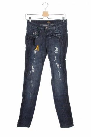 Дамски дънки Killah, Размер XS, Цвят Син, 98% памук, 2% еластан, Цена 17,01лв.