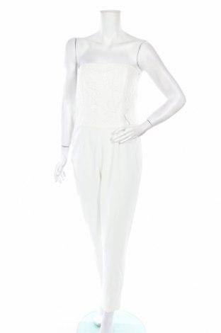 Damski kombinezon Esprit, Rozmiar M, Kolor Biały, 74% poliamid, 22% wiskoza, 4% elastyna, Cena 21,64zł